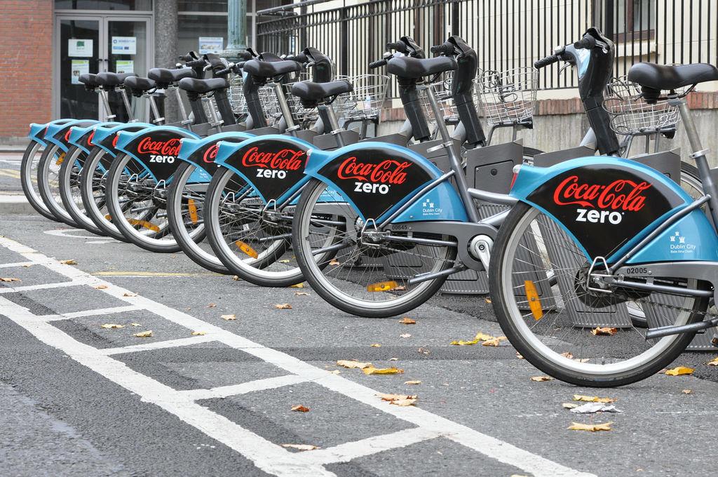 Coca Cola Zero Dublin Bikes