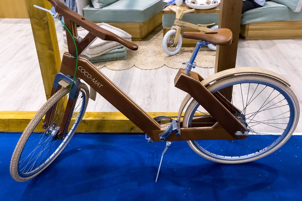 Coco-Mat Fahrrad aus Holz