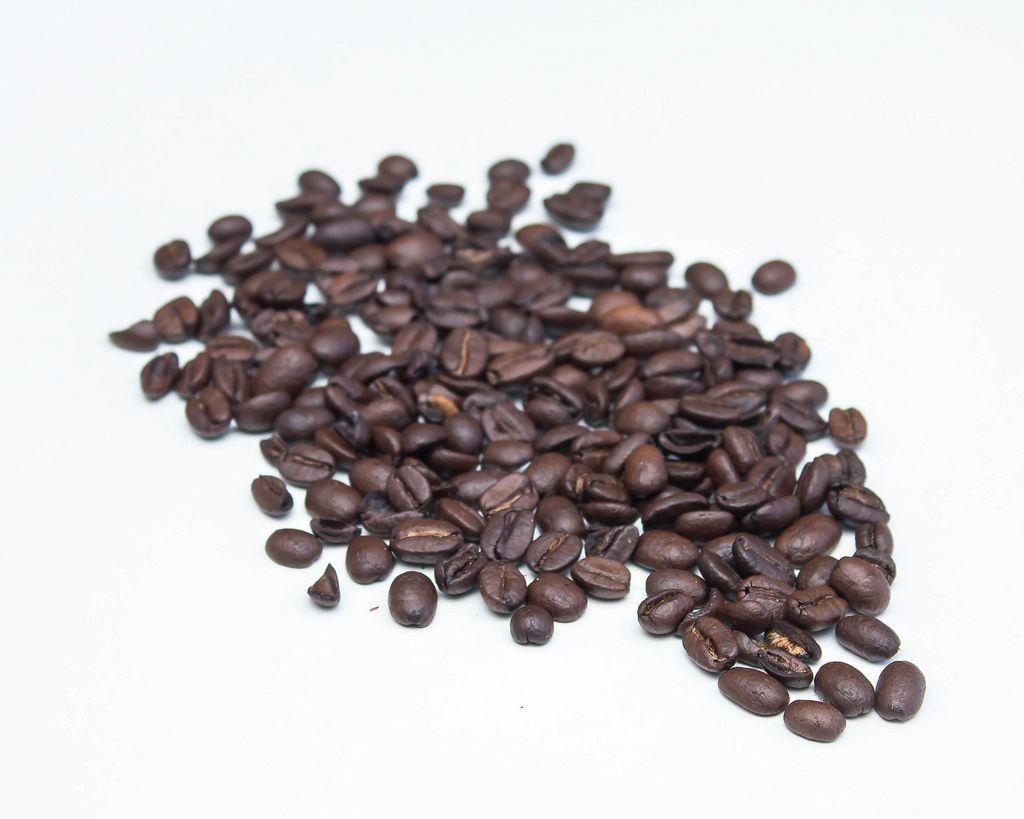 Coffee Beans on a White Background  (Flip 2019) (Flip 2019) Flip 2019