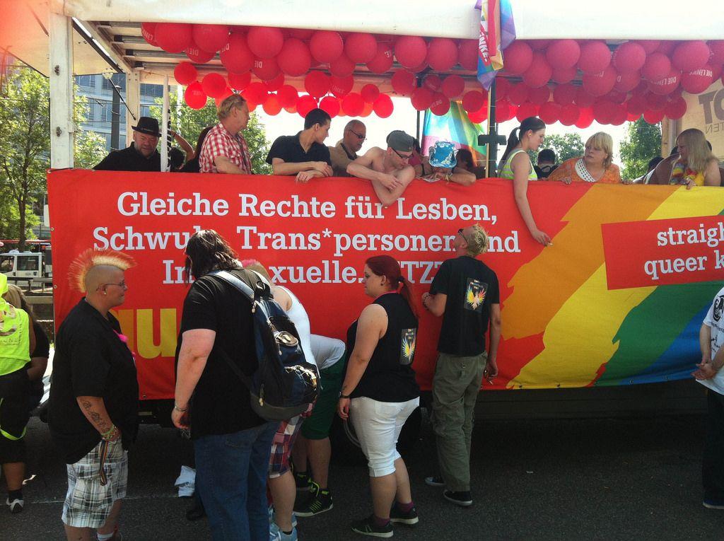 Cologne Pride in Köln - Gleiche Rechte für LGBTI