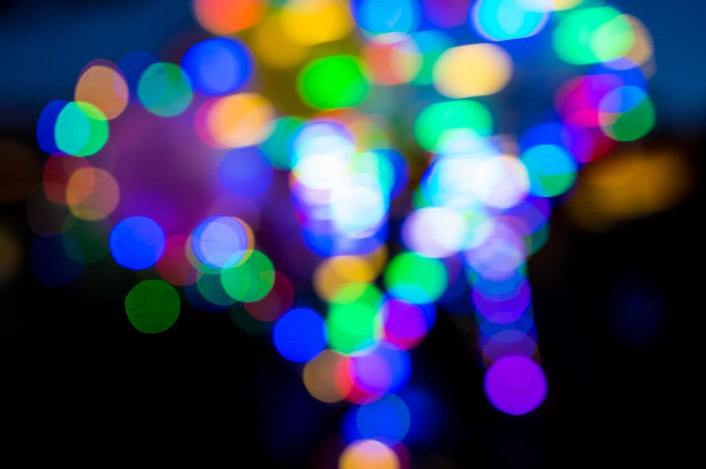 Color lights out of focus (Flip 2019) (Flip 2019) Flip 2019