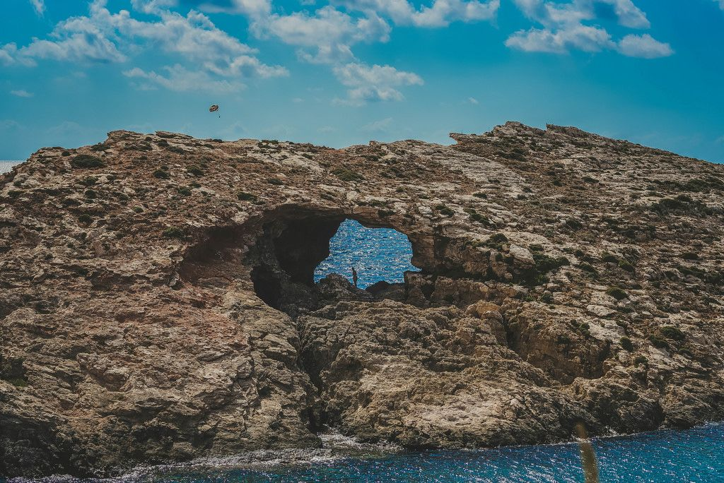 Comino Island Rock
