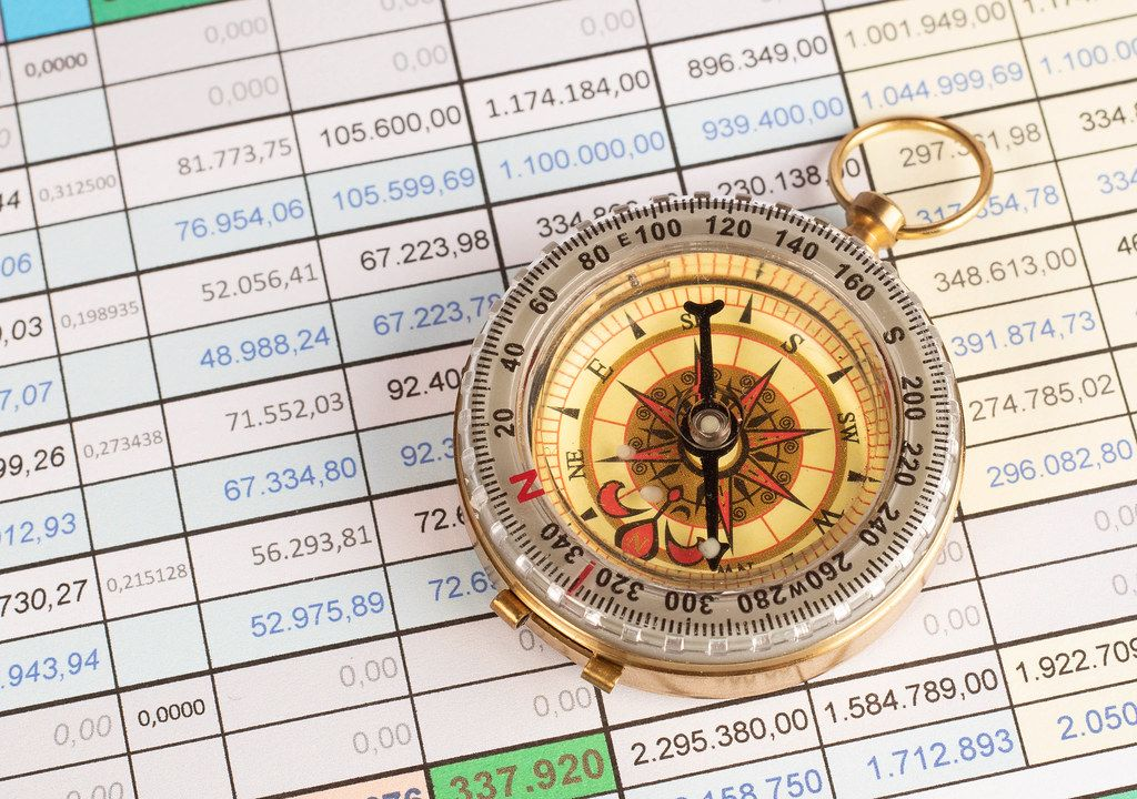 Compass on financial report