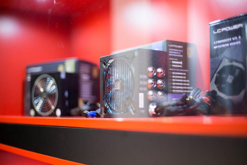 Cooler von LC Power bei der Gamescom 2017