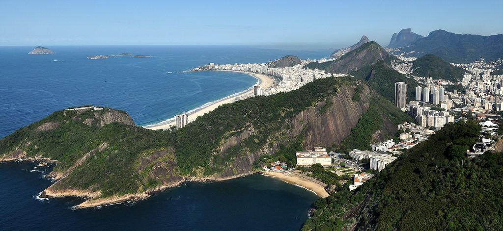 Copacabana in Rio de Janeiro