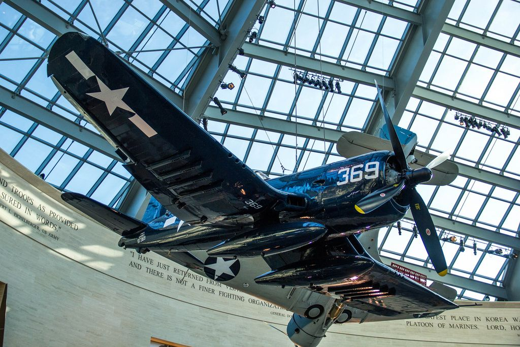 Corsair Fighter Airplane
