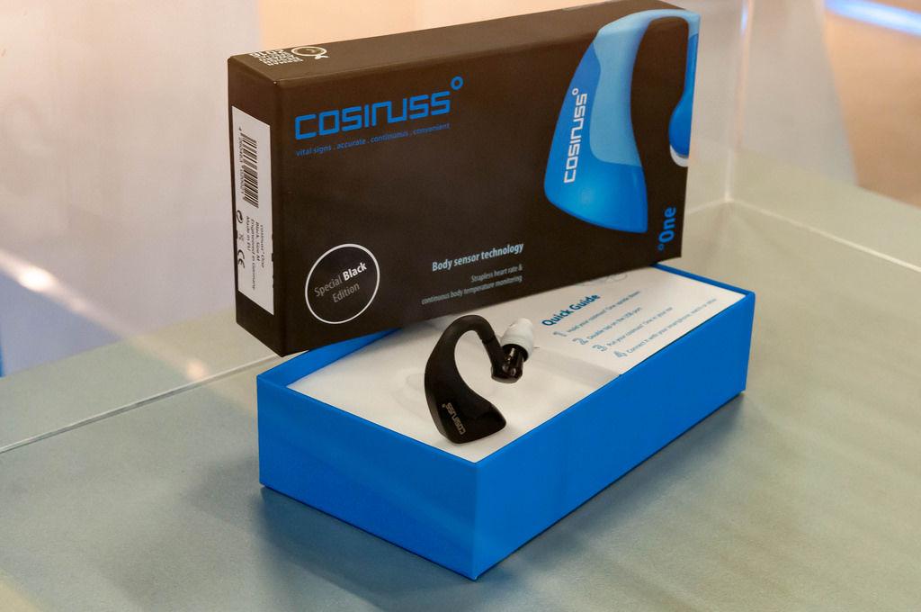 Cosinuss Body Sensor für das Ohr