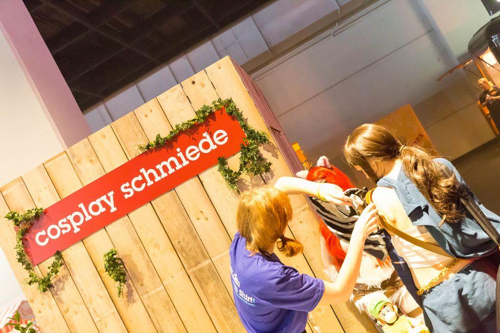 Cosplay Schmiede - Gamescom 2017, Köln