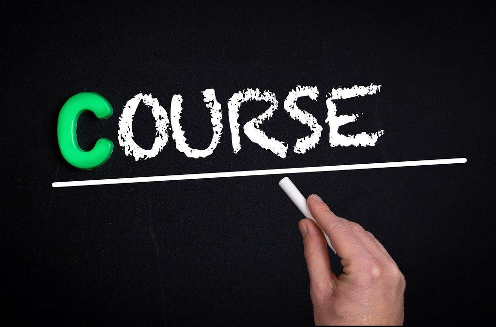 Course text on blackboard