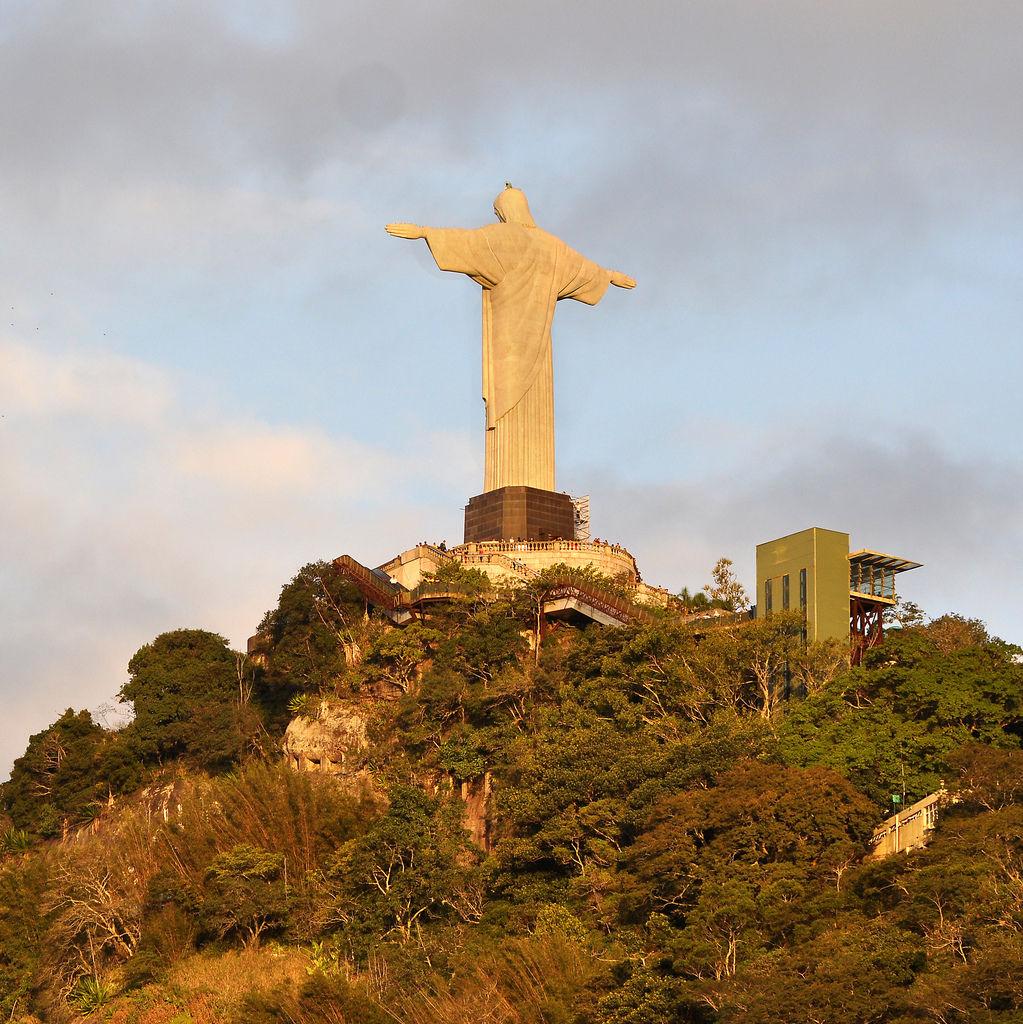 Cristo Redentor: Christusstatue in Rio de Janeiro
