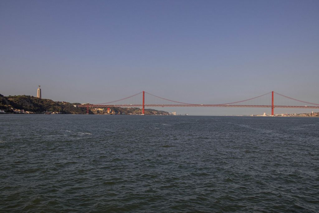 Cristo Rei and 25 de Abril Bridge