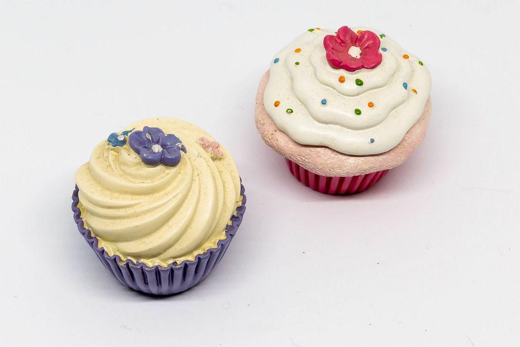 Cup Cakes aus Porzellan