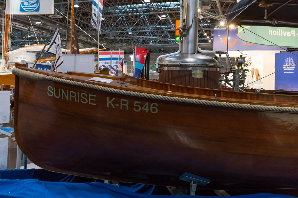 Dampfboot Surnise K-R 546