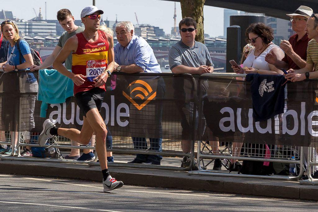 Daniel Wallis - London Marathon 2018