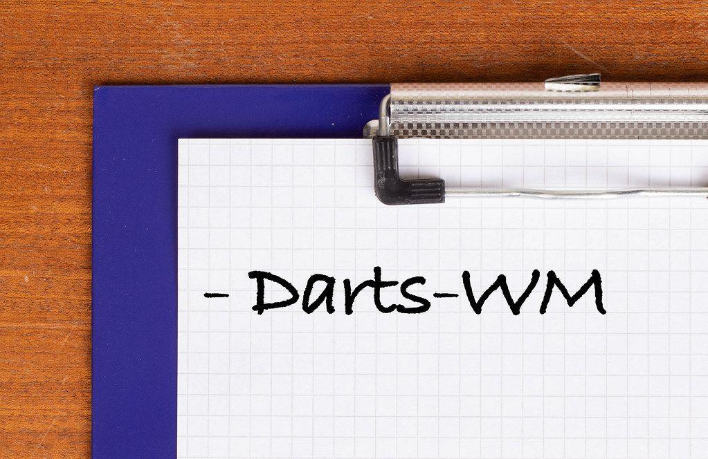 Darts-WM text on clipboard