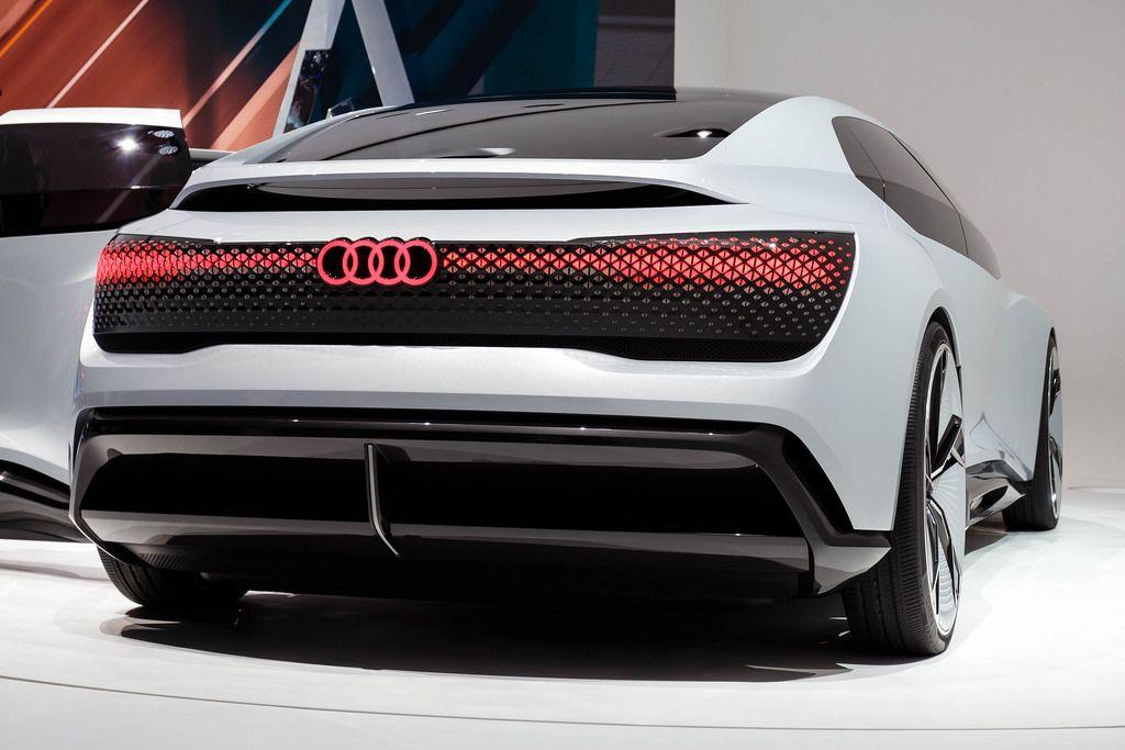 Das Audi-Konzept Modell Aicon bei der IAA 2017 in Frankfurt am Main