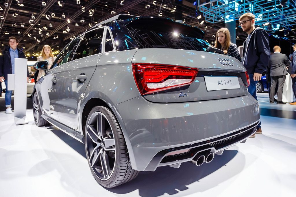 Das Audi Modell A1 1.4T bei der IAA 2017 in Frankfurt am Main