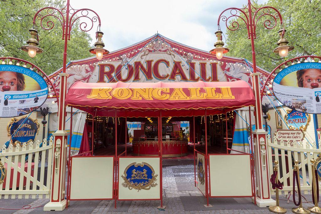 Das bekannte Circus Roncalli