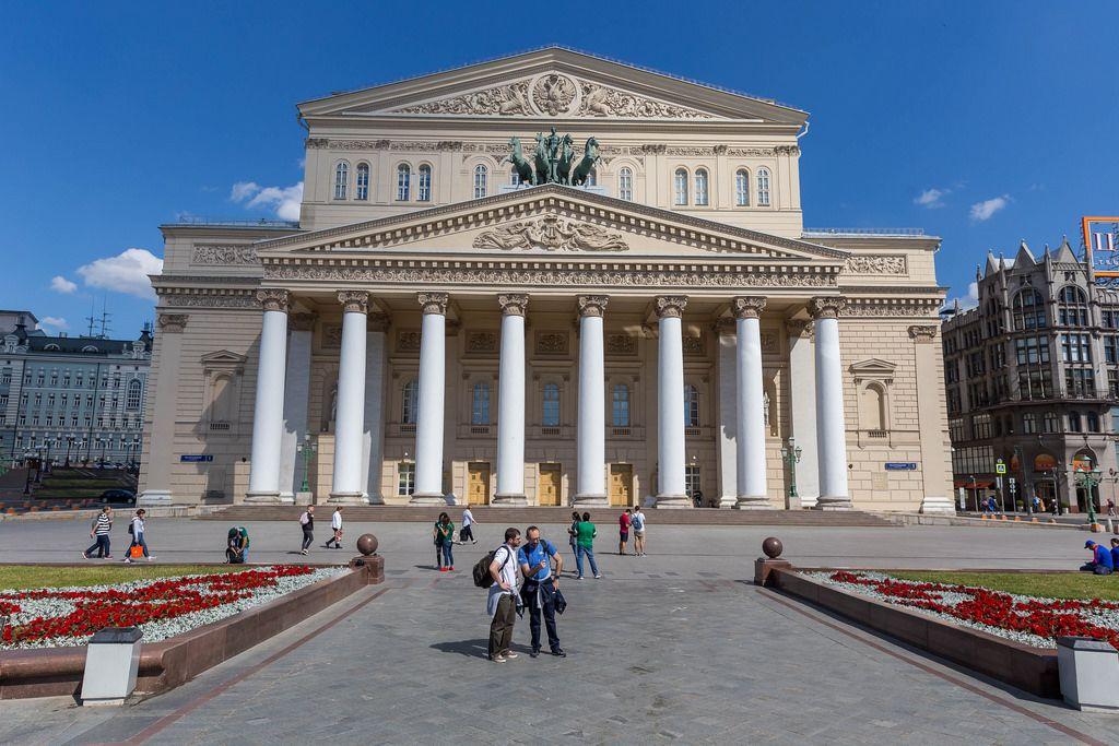 Das Bolschoi-Theater in Moskau