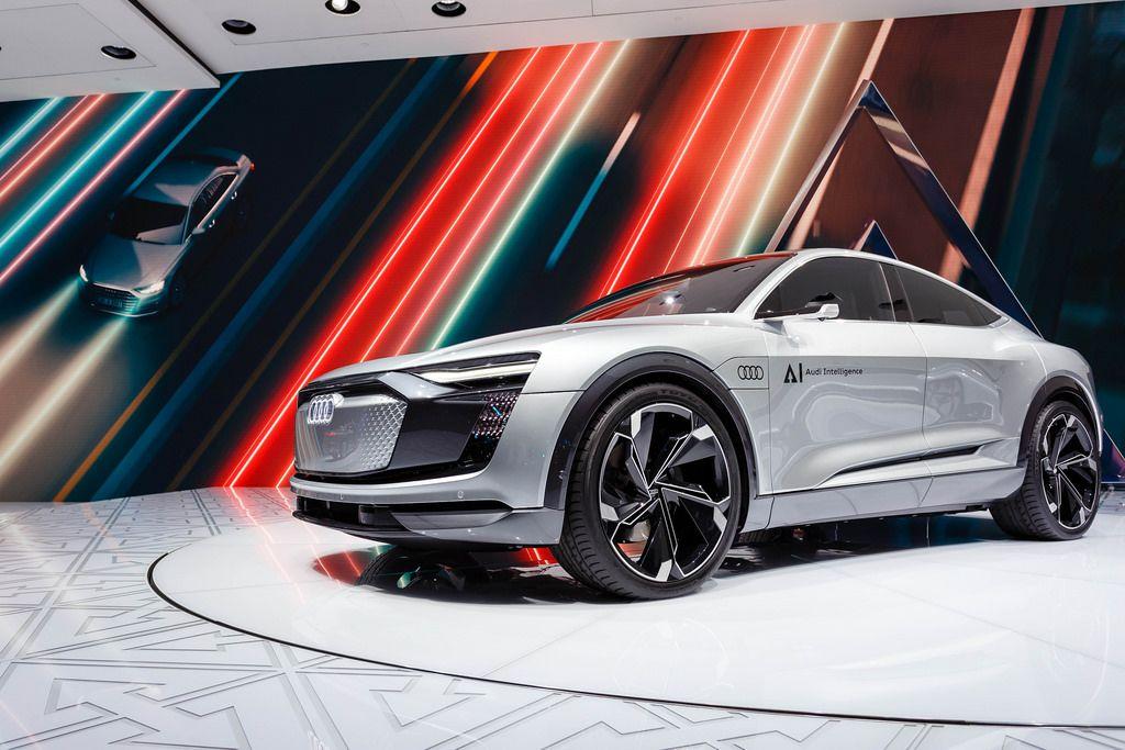 Das Konzept Elaine AI von Audi bei der IAA 2017 in Frankfurt am Main