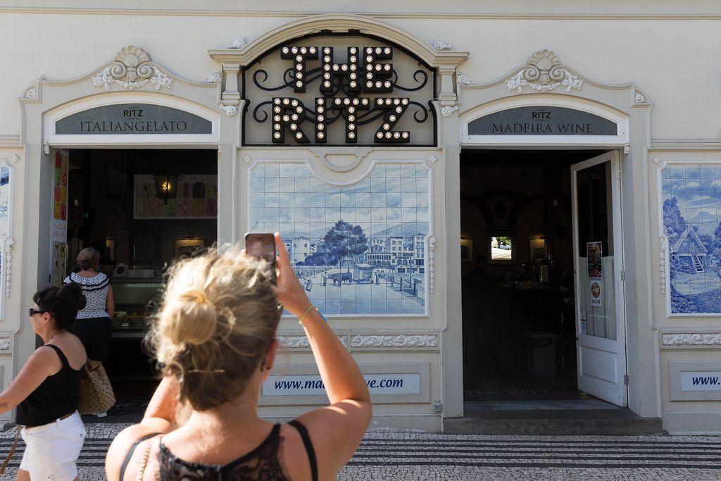 Das Restaurant The Ritz in Funchal, Madeira
