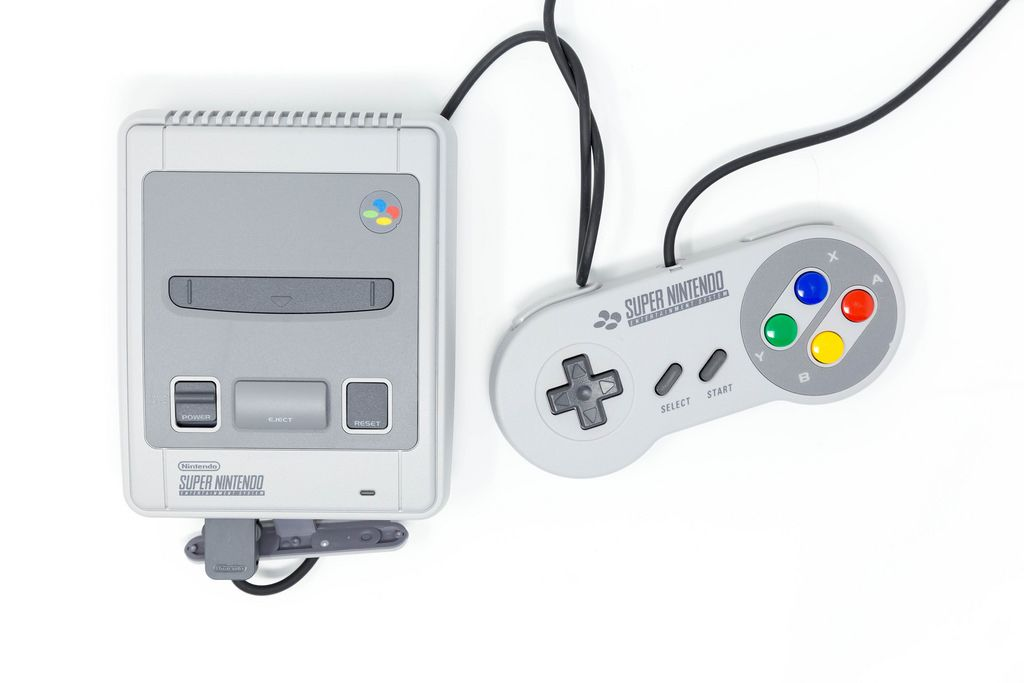Das Super Nintendo Classic Mini Entertainment System