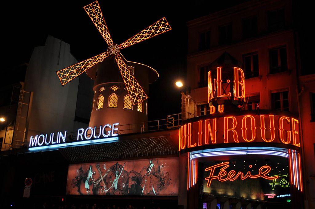 Das Varieté Moulin Rouge in Paris