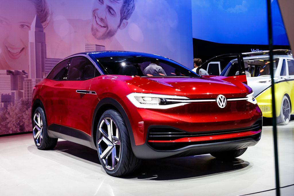 Das Volkswagen Modell Crozz II - I.D. Familie bei der IAA 2017 in Frankfurt am Main