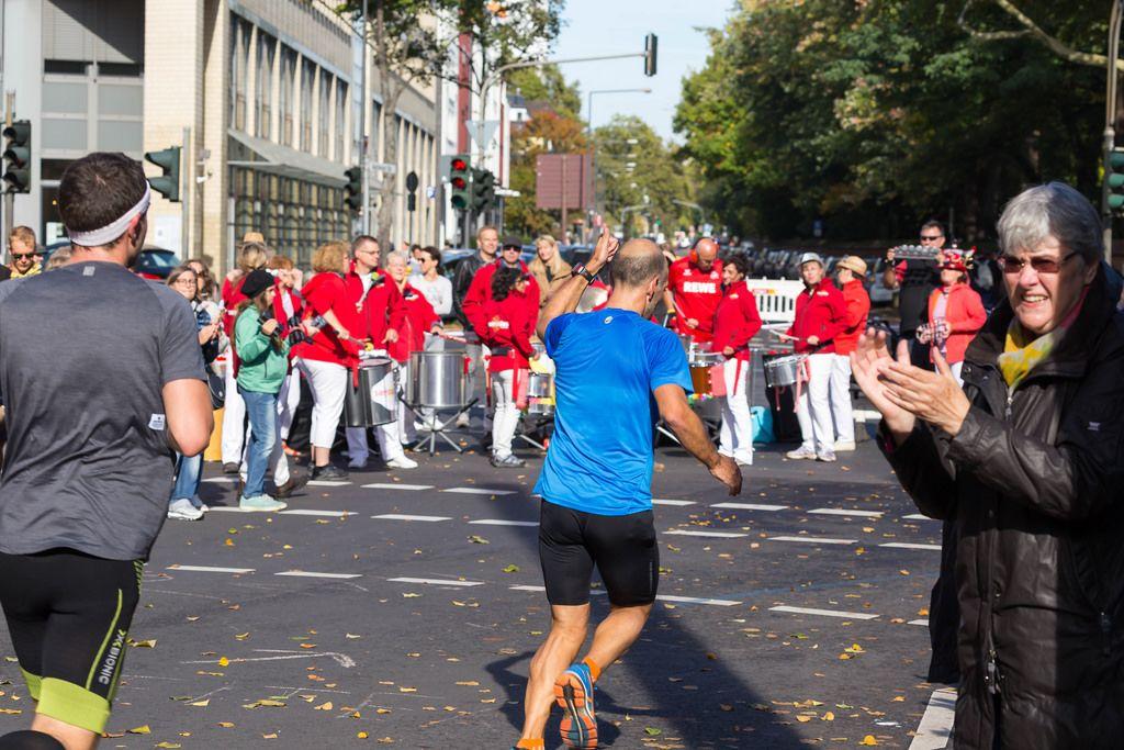 Daumen hoch - Köln Marathon 2017