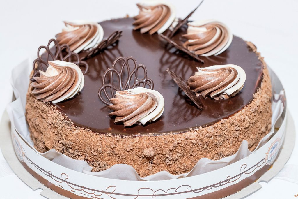 Delicious chocolate birthday cake (Flip 2019) (Flip 2019) Flip 2019