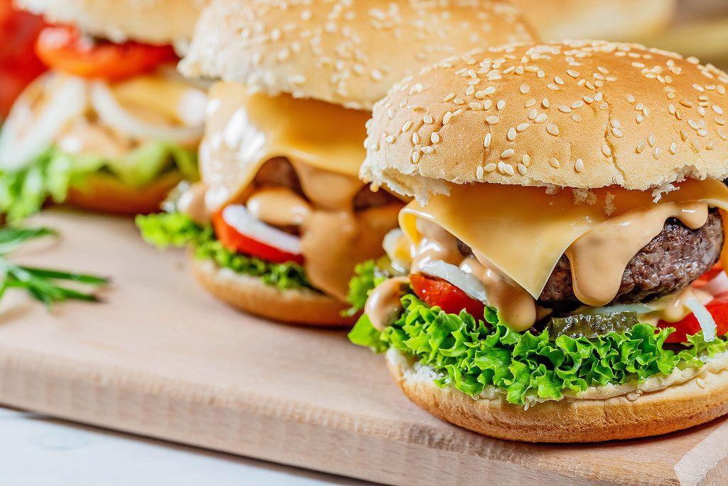 delicious fresh burgers