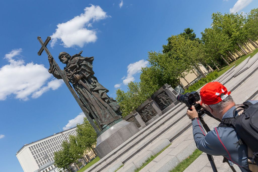 Denkmal zu Ehren des Großfürsten Wladimir
