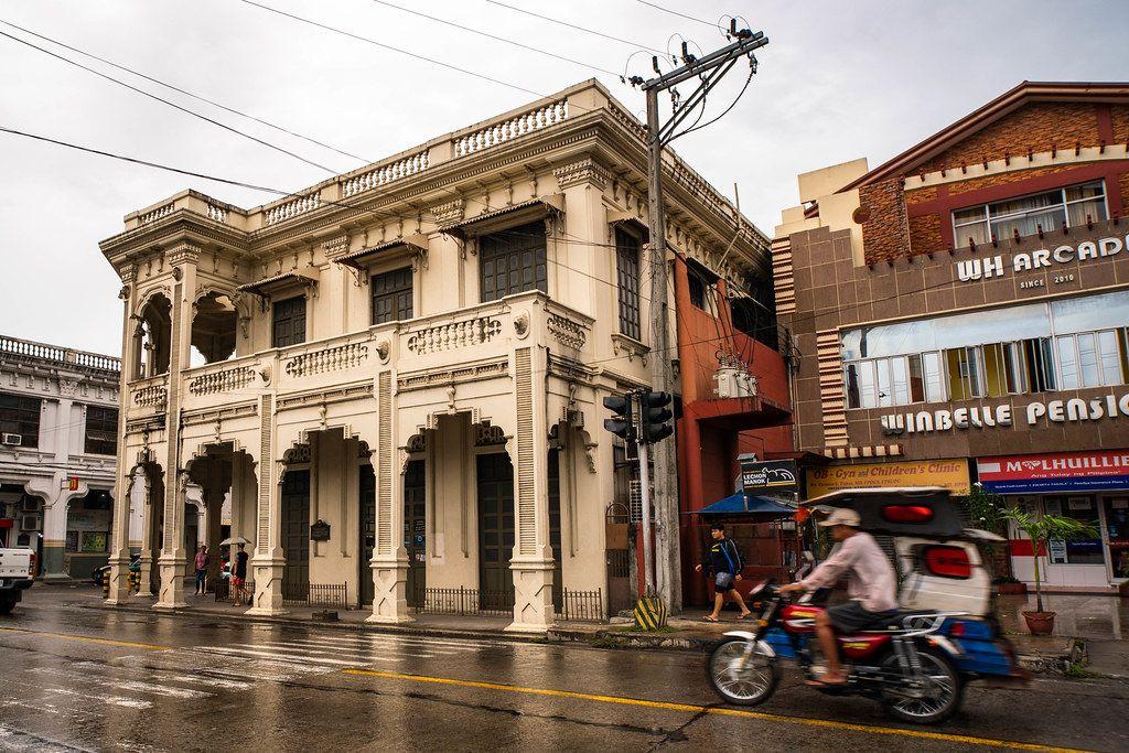 Denkmalgeschützte Gebäude in Silay City restauriert