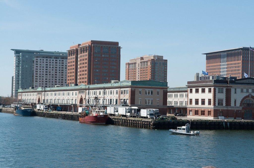 Der Hafen Boston in Boston, USA