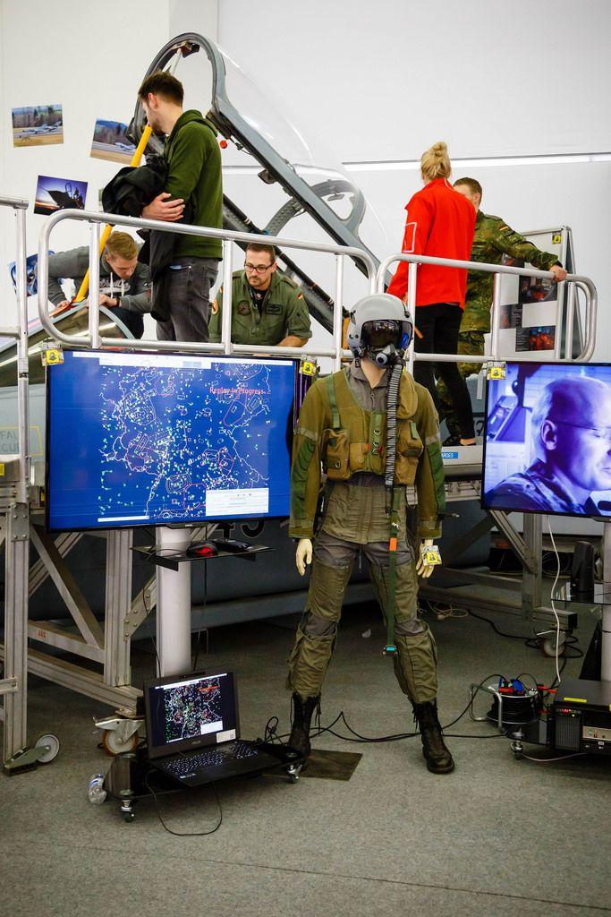 Der Pilotenanzug für das Schulungsmodell für angehende Piloten