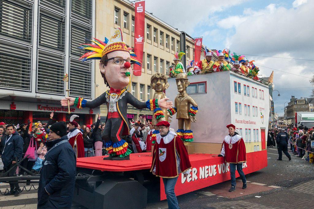 Der Wagen Der Neue Vortänzer - Kölner Karneval 2018