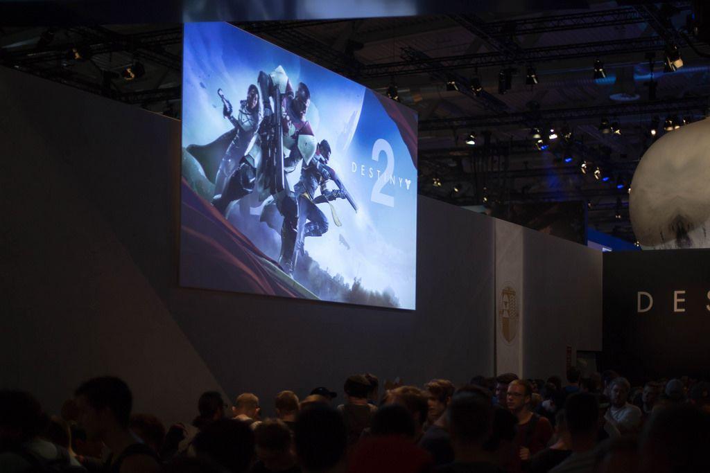 Destiny 2 bei der Gamescom 2017