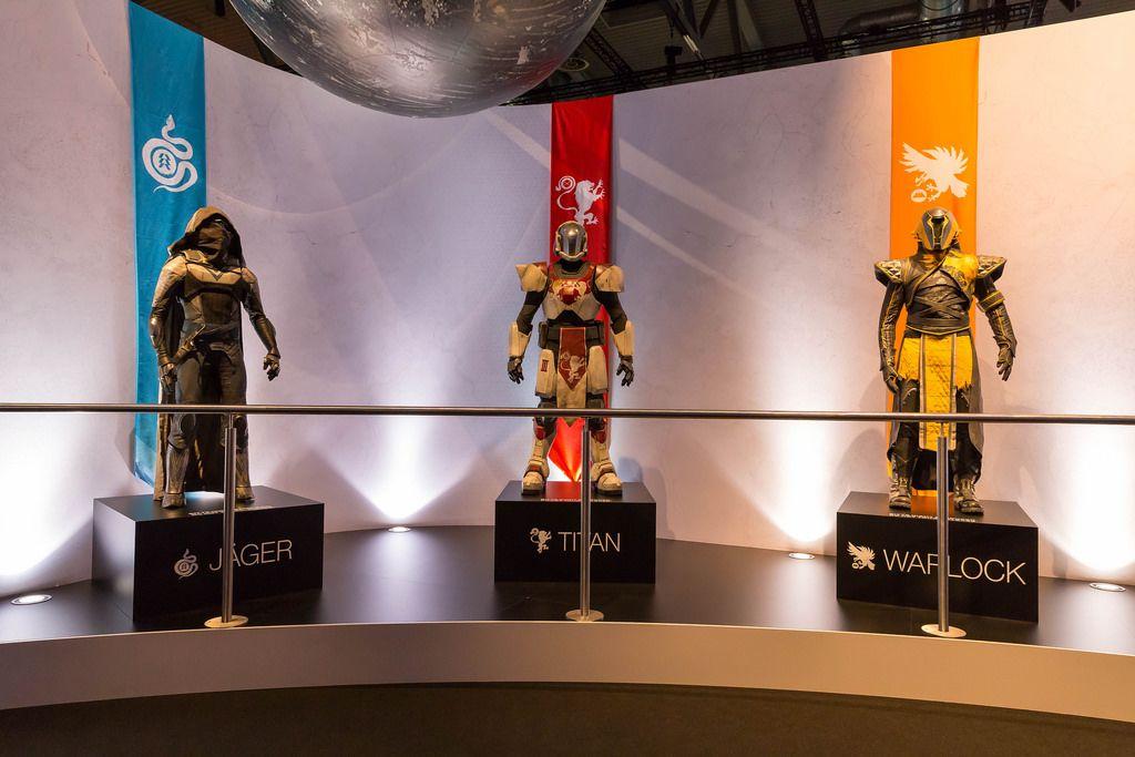 Destiny Klassen: Jäger, Titan, Warlock - Gamescom 2017, Köln