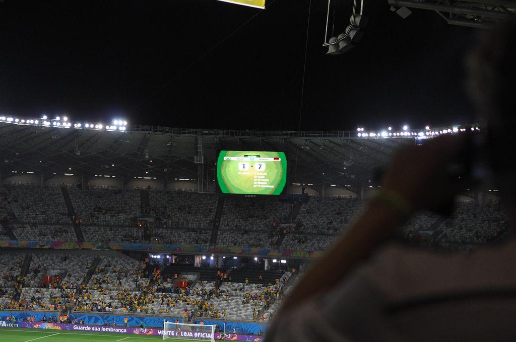 Deutschland - Brasilien 7:1 - Fußball-WM 2014, Brasilien