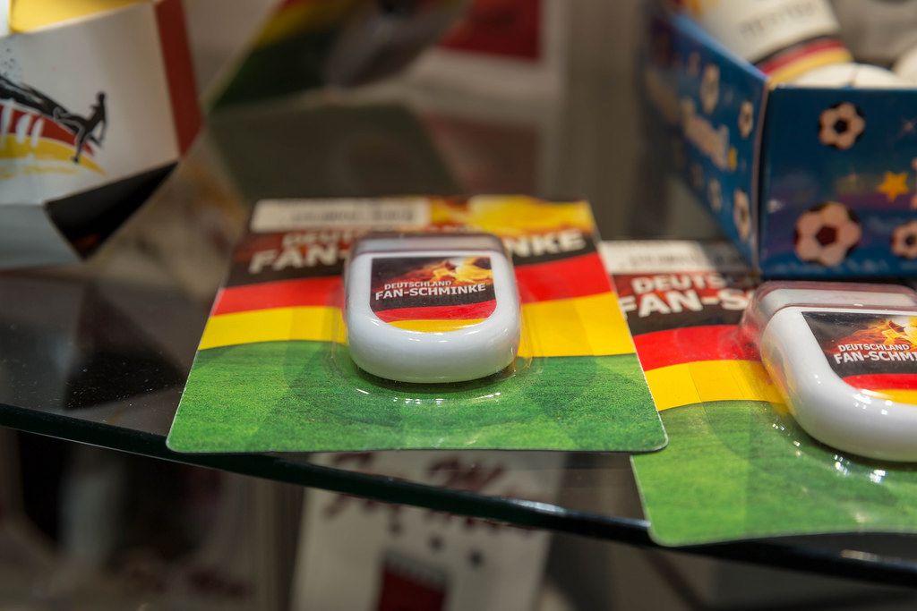 Deutschland Fan-Schminke - IAW Köln 2018