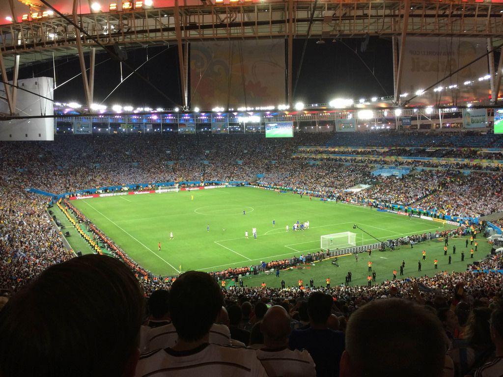 Deutschland gegen Argentinien - Fußball-WM 2014, Brasilien