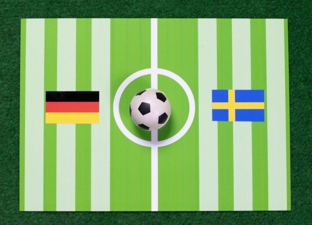Deutschland gegen Schweden bei der Fußball-Weltmeisterschaft 2018