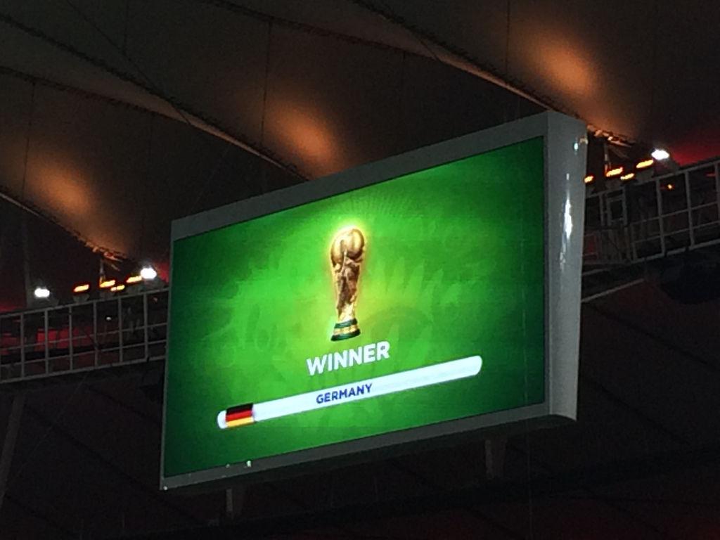 Deutschland ist Weltmeister!