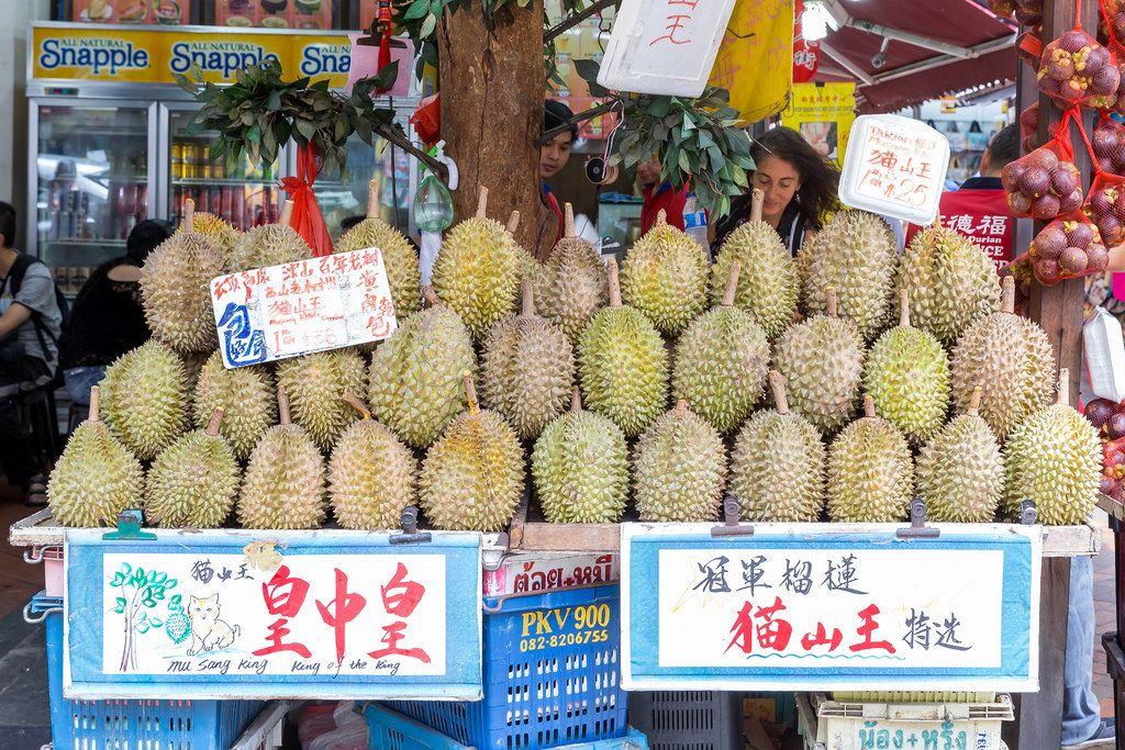 Die Kotzfrucht Durian