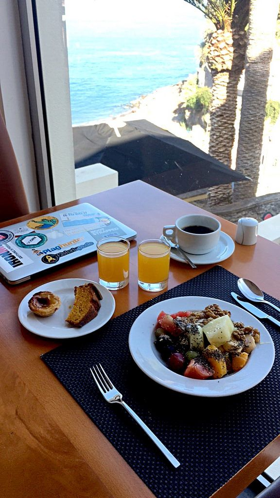 Digital Nomad Breakfast