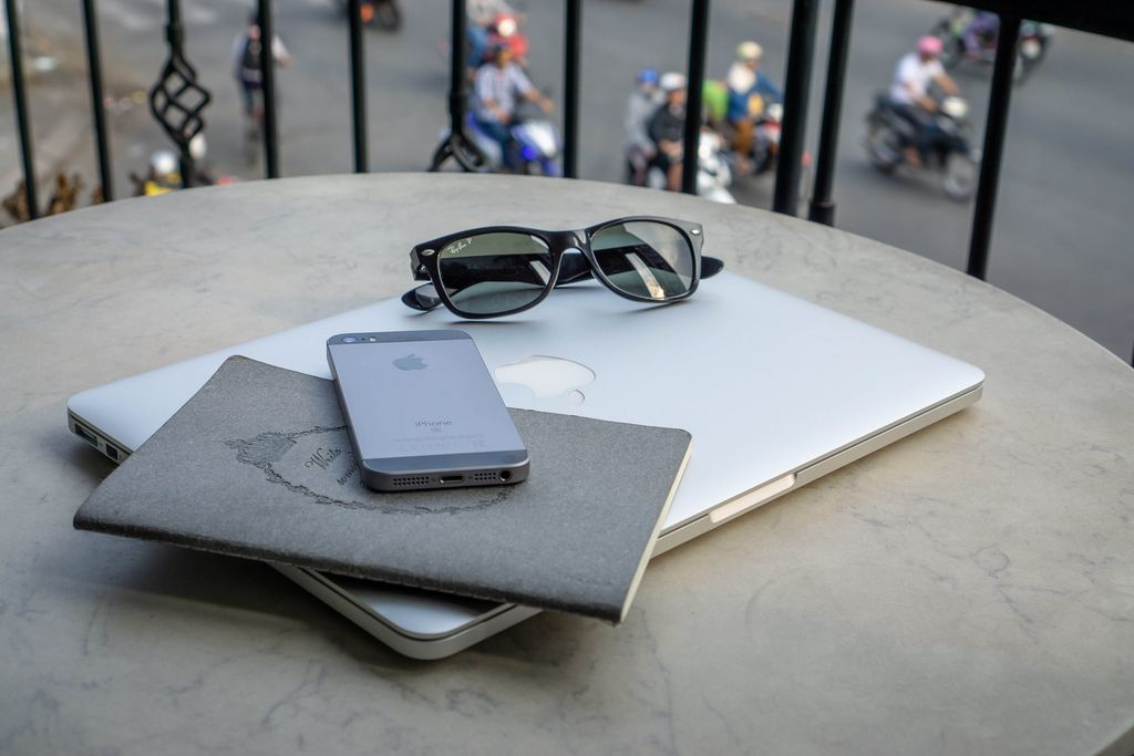 Digital Nomad Equipment on a Table