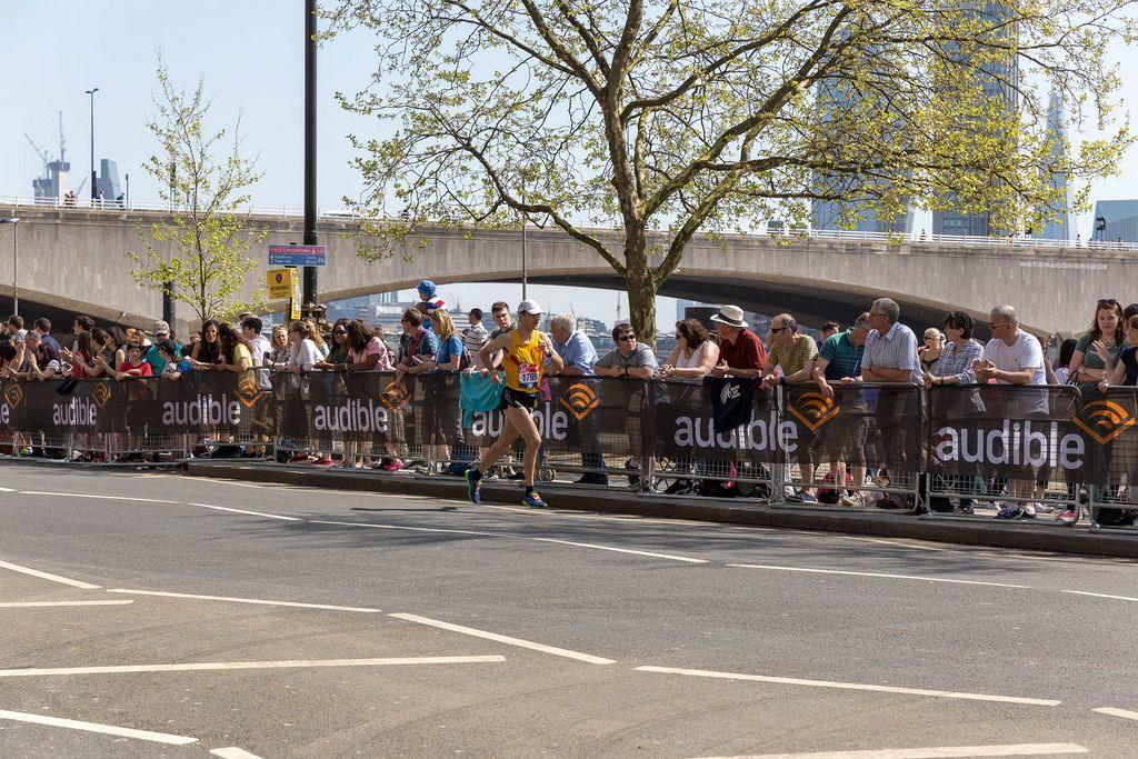 Dimosthenis Evangelidis - London Marathon 2018