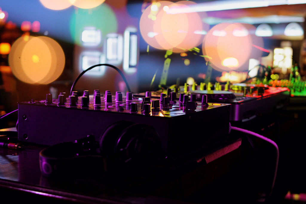 DJ-Pult: Party
