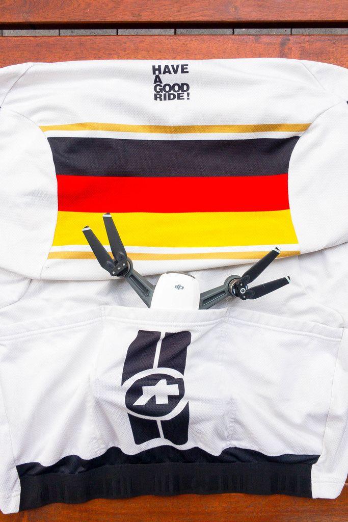 DJI Spark in ASOS-Fahrradtrikot (Deutschland)