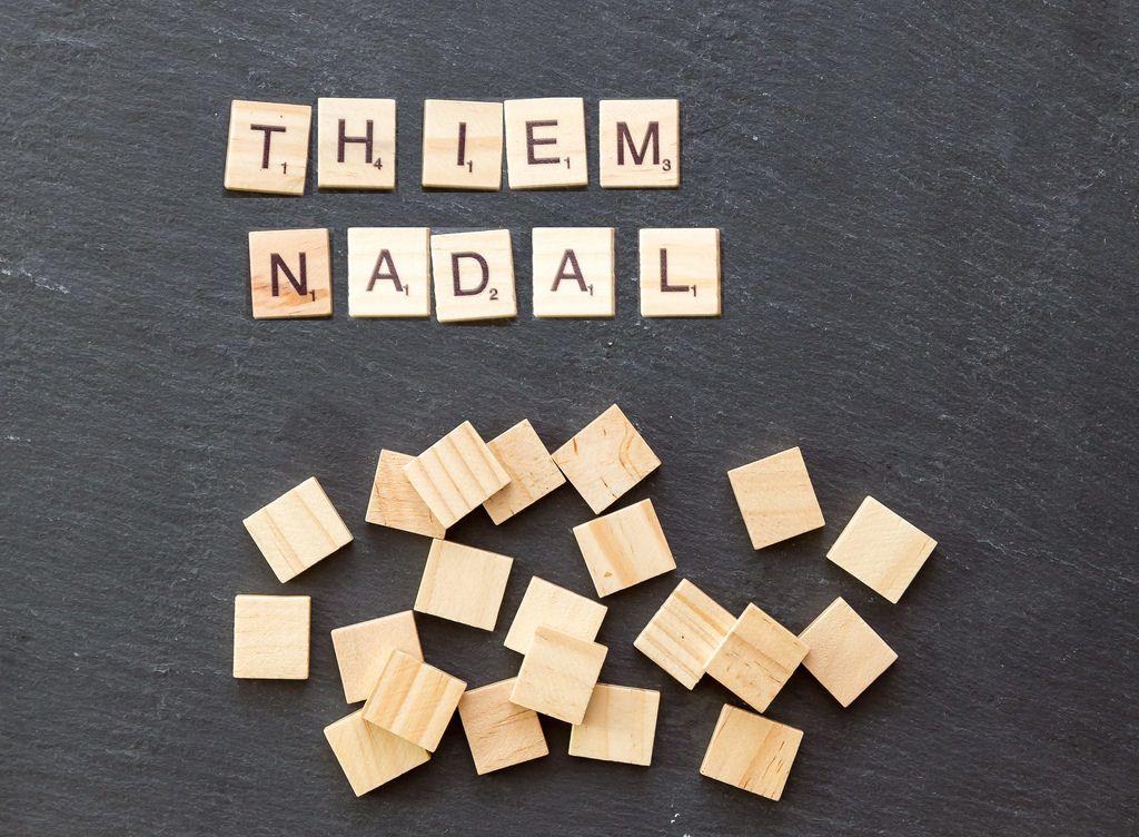 Dominic Thiem gegen Rafael Nadal